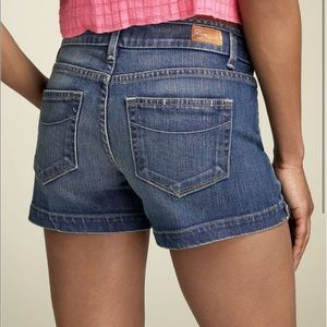 Paige Blue Canyon Jean Shorts 29 Mid Rise E692